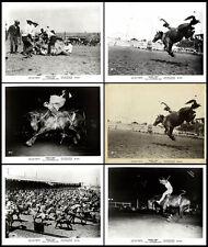 STAMFORD TEXAS COWBOY REUNION RODEO original 1959 publicity still photos