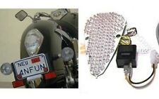 Honda VTX 1300/1800 Retro Models Integrated LED Taillight w/ Clear Lens
