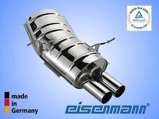 Eisenmann BMW e46 323i Cabrio 120 KW 125 KW 2x70mm l'originale!