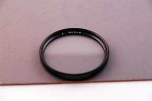B&W 54mm screw fit Soft Focus filter number 2, with DUTO rings, very effective.