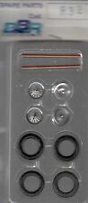 roues à rayons BBR 1/43e pour voitures années 45-55 référence R32