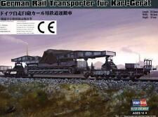 Mortaio Karl-dispositivo Bisarca Carro Trasportatore Ferrovia trasportatore 1:72