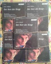 Der Herr der Ringe Kassetten, 9 MC Fantasy Hörspiel J.R.R. Tolkien WDR 1991/1992