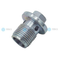4 Piece You.S Original Replacement Oil Drain Plug for Alfa Romeo 55196505