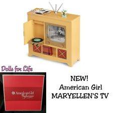 """American Girl Maryellen NEW TELEVISION CONSOLE for 18"""" Dolls Furniture TV 1950's"""