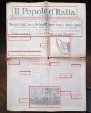 PRE GUERRA-CONSEGNATA AL DUCE LA TESSERA N.1 DEL P.N.F. DEL 27-10-1933 N.1909