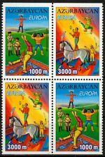 Aserbaidschan MiNr. 513/14 D ** Europa: Zirkus