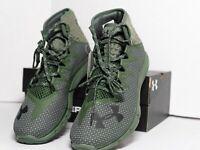 Under Armour UA Project Rock Delta DNA Shoes Dark Green Black SZ ( 3020175-300 )