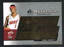 Dorell Wright 2005 Upper Deck SP Signature signed autograph auto Basketball Card