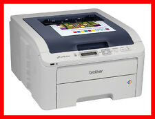 BROTHER HL-3070CW Printer w/ 4 NEW Toners & NEW Drums! -- REFURBISHED !!!