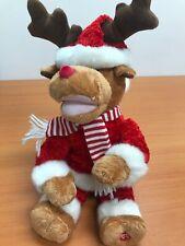 Musical Santa Christmas Reindeer