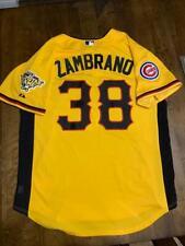 CARLOS ZAMBRANO-CUBS 2006 MLB ALL-STAR GAME-PITTSBURGH NL BP BASEBALL JERSEY L
