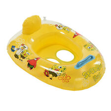 Kids Baby Seat Swimming Swim Ring Pool Aid Trainer Beach Float Inflatable YN