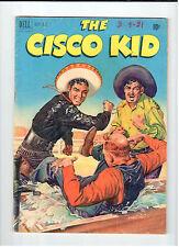 Dell CISCO KID #5 Sept-Oct 1951 vintage western comic