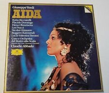 DIGITAL VERDI ABBADO AIDA 3LPs DG W/LIBRETTO NM 2560 050 RELEASED 1982