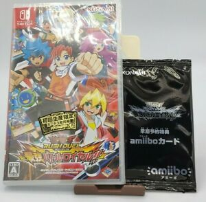 Yu-Gi-Oh! Rush Duel Saikyou Battle Royale w/3 promo card + amiibo card Switch