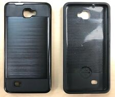 Dual Layer Case for Assurance Wireless ANS L50 Ul50  LA50 in Black
