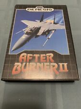 After Burner II (Sega Genesis, 1990) Complete CIB