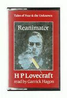 RARE/HP LOVECRAFT AUDIOBOOK/REANIMATOR/MINT/HORROR/CALL OF CTHULHU/CASSETTE/RPG