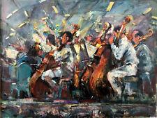Boston Symphony Summer Pops -Tanglewood 40 x30 in. Oil on panel Hall Groat Sr.