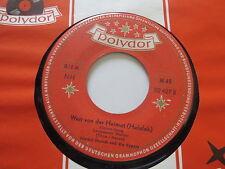 Friedel Hensch & die Cyprys-Addio Weit von der Heimat Polydor Promo Vinyl: mint-