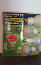 Conserv-Energy Compact Fluorescent Light Bulbs 65 Watt Feit Electric Pack of 4