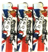 Sex Pistols Bic Lighters 3 Pack Limited Edition Collectors Gift Item