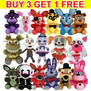 Five Nights at Freddy FNAF Horror Game Kid Plushie Toy Plush Dolls Kids Gift OZZ