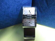 """Moschino """"Hours & Minutes"""" Designer Watch"""