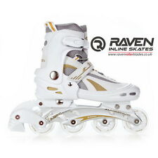 Inline Skates Adjustable Roller Blades Adults Skates Raven Twister
