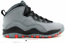 NIKE AIR JORDAN RETRO 10 X COOL GREY INFRARED sz 4 GS 310806-023 GRADE SCHOOL