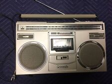WORKING Vintage Panasonic RX-5100 AM FM Radio Stereo Cassette Boombox