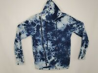 Hudson Outerwear Mens Medium Tie Dye Sweater Hooded Pullover