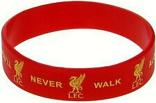 LIVERPOOL FC YNWA RED RUBBER SILICONE BRACELET WRISTBAND one size fits all LFC