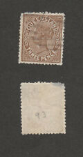 Australia Queensland SC 93 or similar.  Three pence, Queen Victoria