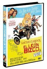CLARENCE THE CROSS-EYED LION (1965) **Dvd R2** Marshall Thompson, Betsy Drake
