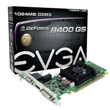 EVGA GeForce 8400 GS 1 GB DDR3 PCI E 2.0 16X DVI HDMI VGA Graphics Card