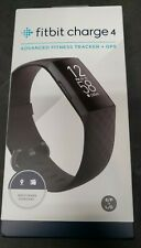 New Sealed Fitbit Charge 4 Fitness Activity Tracker -  GPS Touchscreen