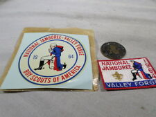 1964 Boy Scouts National Jamboree Valley Forge Patch Coin Decal