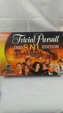 SNL Trivial Pursuit DVD Edition Board Game Saturday Night Live 30 Seasons of SNL