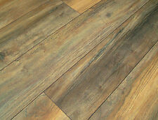 Sample of 12mm Harbour Grey Oak 4v-groove Laminate Flooring Ac5 Made in Germany