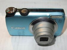 Canon A3200 Digital Camera FAULTY BROKEN for Parts / Repair only