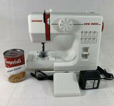 Janome SEW MINI 525 Small & Light Miniature 5 Lb Portable Sewing Machine New