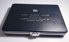 Lange Skinfold Caliper And Hard Case Cambridge Scientific Industries BMI Fitness