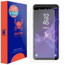 Skinomi Anti-Glare Matte Screen Protector for Galaxy S9 Case Friendly 2-Pack