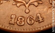 1864 Two Cents: FS-1302 RPD Scarce High Grade Luster #U8760