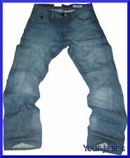 Faded L34 Herren-Straight-Cut-Jeans niedriger Bundhöhe (en)