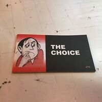 jack chick tract the choice #100 '99 christian lucifer god jesus devil hell !