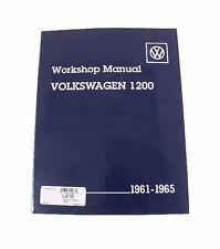 NEW Volkswagen Beetle Karmann Ghia 1200 Bentley Repair Workshop Manual VW8000165