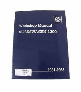 For Volkswagen Beetle Karmann Ghia 1200 Bentley Repair Workshop Manual VW8000165